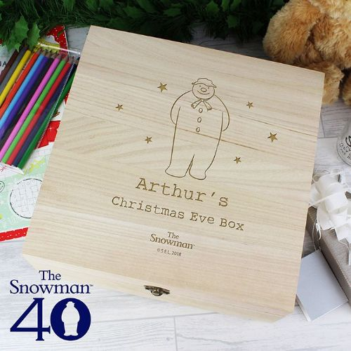 Personalised The Snowman Christmas Eve Box